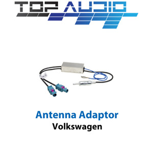 VW Antenna Adapter w 2 Fakra connector lead cable wire plugs and diversity