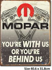Mopar Pistons - Licensed  Quality Tin Sign 2015 Made in USA