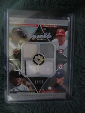 2006 EXQUISITE CHASE UTLEY/ROBERTS/KINSLER/IGUCHI ENSEMBLE MATERIALS QUAD 07/20