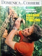 La Domenica del Corriere 20 Giugno 1972 Mauri Amazzonia Cruyff Ufo Orchidea Usa