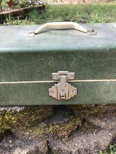 Simonsen Vintage Tackle Box Full of Lures, Flys, Reel & More!