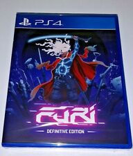 Furi Definitive Edition PS4 PlayStation 4 Limited Run Game #62 New & Sealed