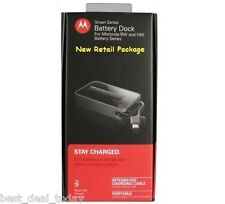 OEM Motorola HW4X Spare Battery+External Dock Charger For Droid Bionic XT875
