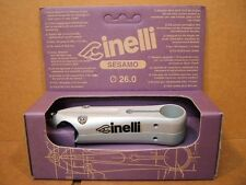 New-Old-Stock Cinelli Sesamo Stem...Silver Finish w/Black Decals (110 mm)