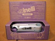New-Old-Stock Cinelli Sesamo Stem...Silver Finish w/Black Decals (110 mm)