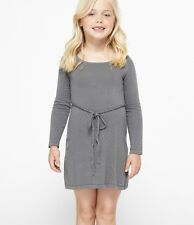 Roxy Kids Size 5 Patches Grey Dress