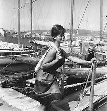 Claudia Cardinale en 1961, tirage argentique signé et numéroté 1/1