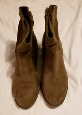 Merona western ankle boots, size 9.5m, fits a bit small, brown