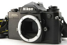 Near MINT NIKON FM3A Black Body SLR 35mm film camera from Japan