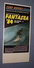 Original Greg Huglin Fantasea '84 Surfing Classic Australian Poster