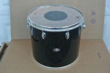 "1 OWNER DRUM! 1970's SLINGERLAND 16"" BLACK CONCERT TOM for YOUR DRUM SET! #V987"