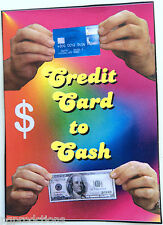 CREDIT CARD TO CASH Debit Money Bill Magic Trick Jumbo Debit Close Up Pocket