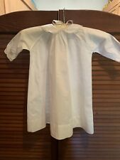 Vintage Baby Christening Baptism Dress Gown White Sleeves