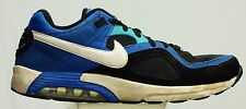 NIKE AIR MAX GO STRONG COMFORT RUNNING SHOE MEN SIZE 8.5 BLACK BLUE 418115 015