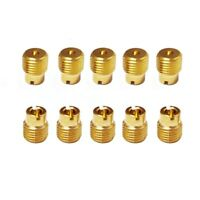 FidgetGear 10X Round Main Jet 5mm for Keihin VB VD VE Carburetor 138-162