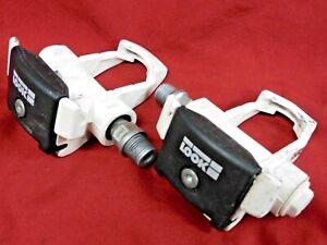 1 Pair XLNT Retro Vintage Look PP56 L & R Clipless Pedals 9/16 x 20 no Cleats