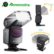 Universal Hot Shoe Flash Speedlite Slave Light For Canon Nikon DSLR Camera UK