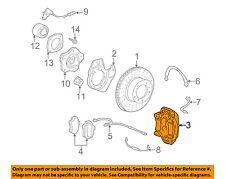 PORSCHE OEM 00-08 Boxster Front Disc Brake-Caliper Assy 98635142203