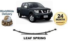 Per Nissan Navara D40 2.5 TD 3.0 TD 5/2005 - & GT NUOVO posteriore Foglia Primavera * OE qualità *