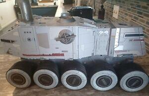 Star Wars The Clone Wars Turbo Tank Juggernaut Toy, near complete, works