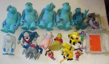 Big lot of 16 MONSTER INC McDonalds MCD happy meal figure Toys, Disney