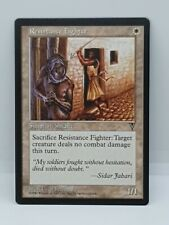 NM Resistance Fighter White Visions MtG Magic The Gathering 1996