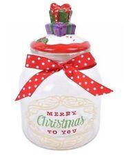 Hoff große Glasdose Geschenke Weihnachten Keksdose Keramik Vorratsglas  52855