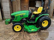 John Deere 2720Diesel 4WD Compact tractor With Hayter Mowers Low Hours 2 Owners