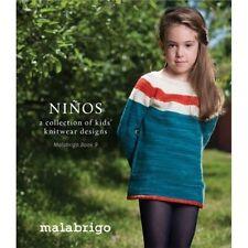 Malabrigo Book 9- NINOS- First Kids Book From Malabrigo- Brand NEW on the Market