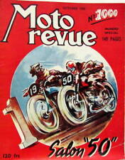 MOTO REVUE 1950 ANNEE COMPLETE 47 N° SALON GILLET TRIUMPH MOTOBECANE TERROT BSA