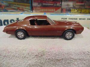 AMT 1970 Pontiac Firebird formula 400 1/25 Scale Promo BROWN