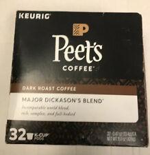 Peet's Coffee Major Dickason's Blend Dark Roast 32-ct. K-Cups, exp. 5/21/20