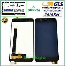 DISPLAY LCD ASUS ZENFONE 3 MAX ZC520TL X008D 5,2'' TOUCH SCREEN VETRO NERO