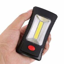 2 Mode COB LED Magnetic Working Flashlight Folding Hook Pocket Torch Handy Lamp