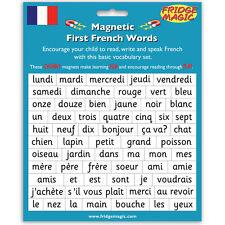 Primer palabras francés magnético/estrategia de alfabetización palabras/Nevera Magic Imán m5