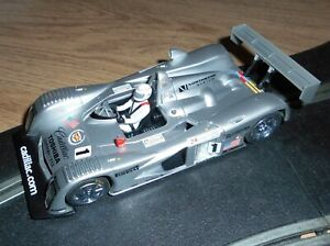 Vintage Scalextric Cadillac 2000 LMP Le Mans touring car # 1 superb with lights