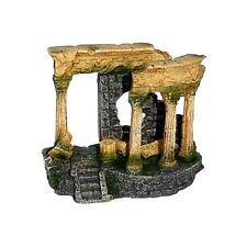 Roman Ruined Columns Aquarium Ornament Decor