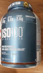 Dymatize ISO100 Hydrolyzed Whey Protein Powder Isolate Fudge Brownie 2.2kg