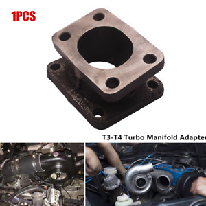 T3-T4 Turbocharger Manifold Adapter Flange Conversion Convertor Cast Iron Parts
