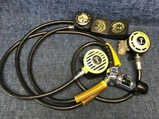 Us Divers Conshelf Sea Regulator With Octopus Gauges Scuba 1st and 2nd Stage