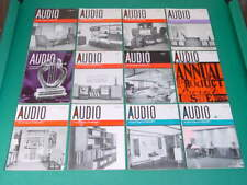 1962 Audio Magazines, Complete Year, 12 Issues