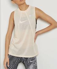 New Nike Women's top Size M/ L/ XL /sleeveless tank /gym/mesh/ NIKE BREATHE/ £34