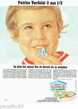 PUBLICITE ADVERTISING  016  1967  Six de Savoie Fromage Patrice Verdelet