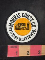 Vintage GILLETTE WYOMING MORRIS CONSTRUCTION CO. Advertising Patch 91NF