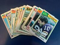 1977 Topps Football Lot of 22 cards