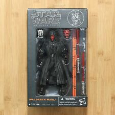 Hasbro Star Wars The Black Series Darth Maul 6 in Action Figure AUTHENTIC