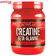 Creatine Beta-Alanine 300g Monohydrate Endurance Muscle Development Growth