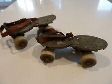 Roller Skates Vintage Metal For Display