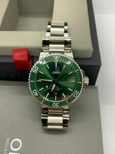 Oris Aquis Date Automatic Green Dial Men's Watch 01 733 7730 4157-07 8 24 05PEB
