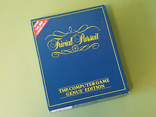 Trivial Pursuit The Computer Game Genus Edition Commodore 64 C64 Game